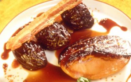 Recette foie gras de canard du sud ouest po l au - Foie de veau vinaigre balsamique ...