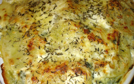 recette gratin cr meux de pommes de terre aux pinards 750g. Black Bedroom Furniture Sets. Home Design Ideas