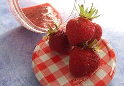 Recette confiture de fraises maison not e 4 5 - Confiture de fraises maison ...