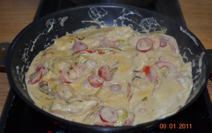 Recettes de poulet la cr me fra che les recettes les - Comment cuisiner les blancs de poulet ...