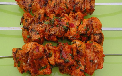 Recette brochettes marinees la mexicaine au barbecue for Marinade au paprika pour barbecue