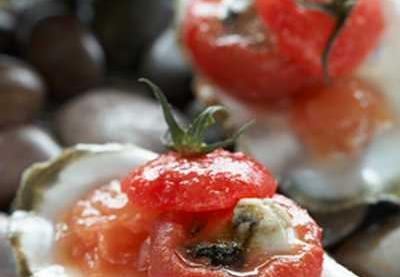 Recette tomate farcie d 39 hu tre en gel e tremblotante fa on bloody mary kiwi not e 5 5 - Recette bloody mary ...