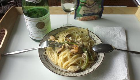 Recette spaghetti aux fruits de mer 750g - Spaghetti aux fruits de mer ...