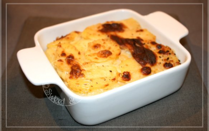 recette pommes de terre au lait fa on gratin dauphinois not e 4 2 5. Black Bedroom Furniture Sets. Home Design Ideas