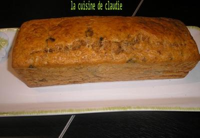 Cake Moelleux Thon Tomate Olive