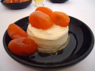 Parfait de miel aux kumquats caramélisés