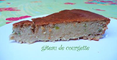Recette Gâteau à La Courgette Facile 750g