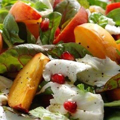 Recette Salade Verte Et Peches 750g