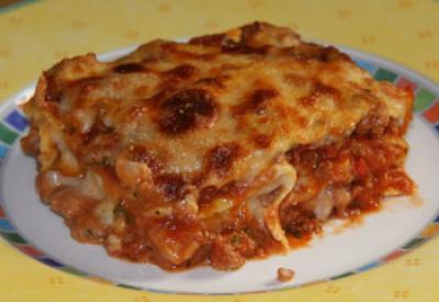 Recette Lasagne Gourmande 750g