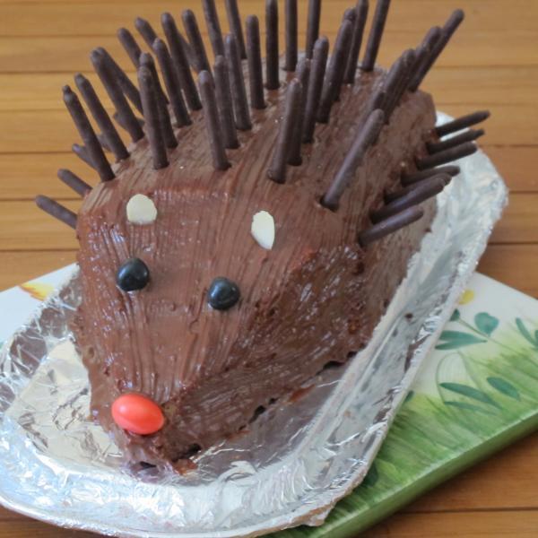recette - gâteau hérisson d'anniversaire   750g