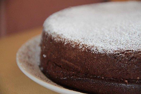 recette - gâteau à la mousse au chocolat   750g