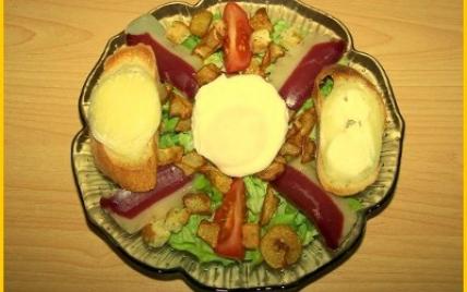 salade aiguillettes de canard