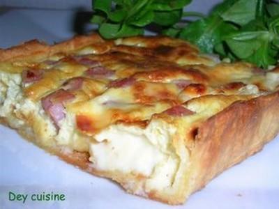 Recette Quiche Jambon Vache Qui Rit 750g