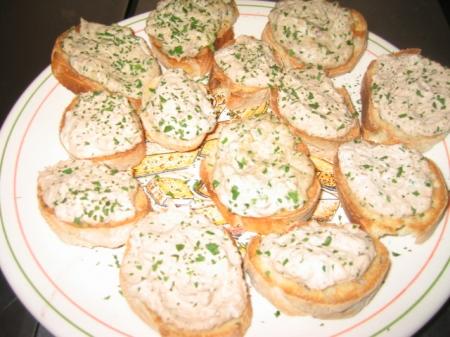 Extrêmement Recette - Toast apéritif au thon | 750g FI53