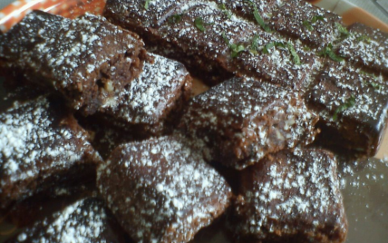 Recette Brownies Chocolat Menthe 750g