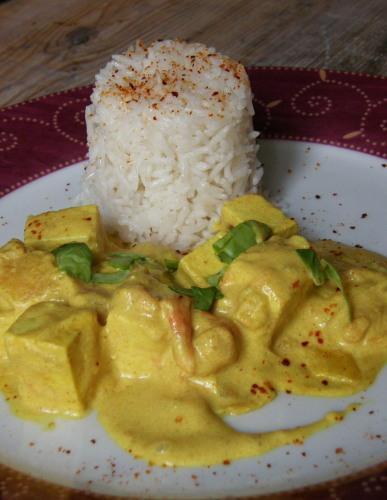 Recette Curry De Tofu Au Lait De Coco 750g