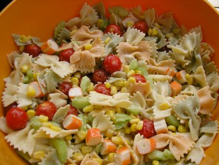 recette salade de pâtes classique 750g