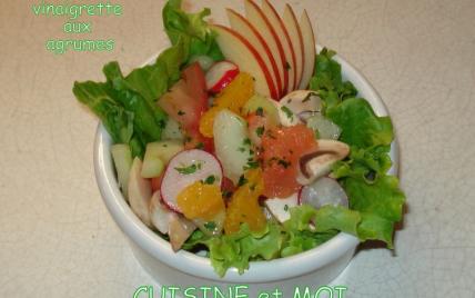 salade agrumes entrée