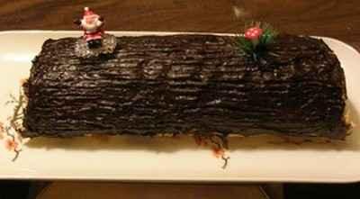 Recette Buche De Noel Chocolat Marron 750g