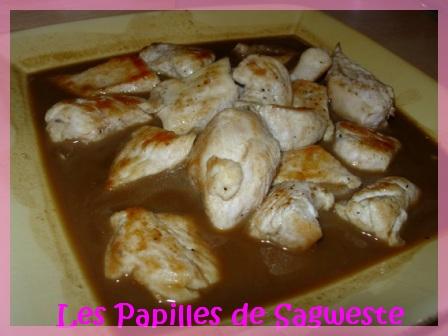 Recettes filet de poulet en sauce - Poulet en sauce au vin blanc ...