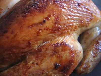 excellent poulet roti