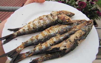 Recette - Sardines au barbecue   750g on