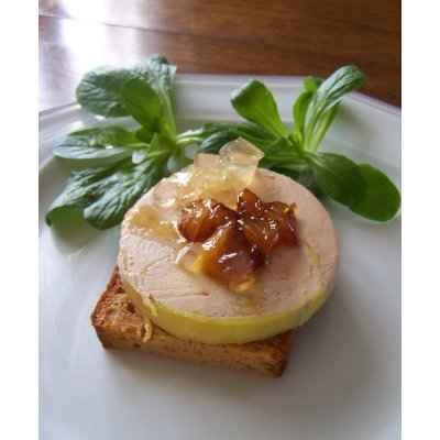 Turbo Recette - Foie gras sur un lit de pain d'épice | 750g KK43