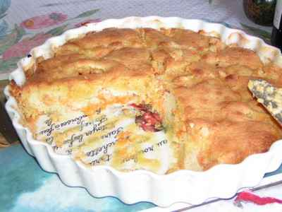 Recette Gâteau Aux Abricots Et à La Poudre Damandes 750g
