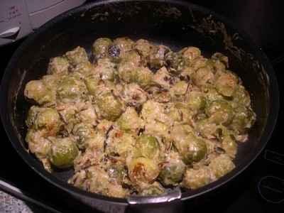 recette - choux de bruxelles aux 2 poivres | 750g