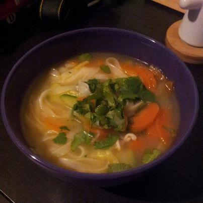 Recette Soupe Thai Aux Legumes Croquants 750g