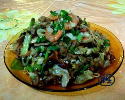 recette - recette tahitienne - le chao men | 750g