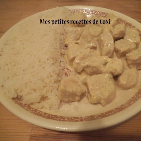 Recette Filets De Poulet Au Curry Et Son Riz Blanc 750g