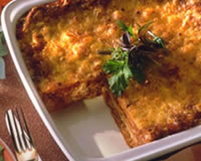 Recette Lasagnes Aux Legumes Et Au Thon 750g