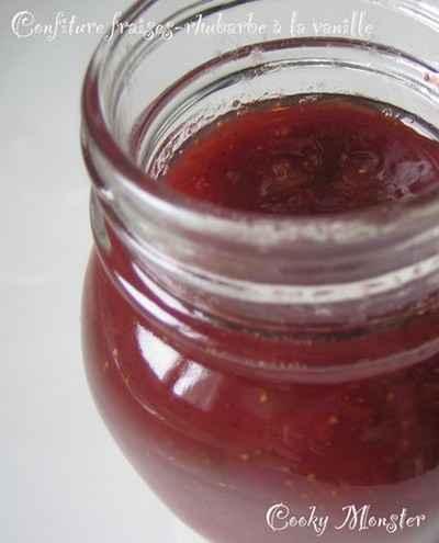 confiture de fraise avec gelatine