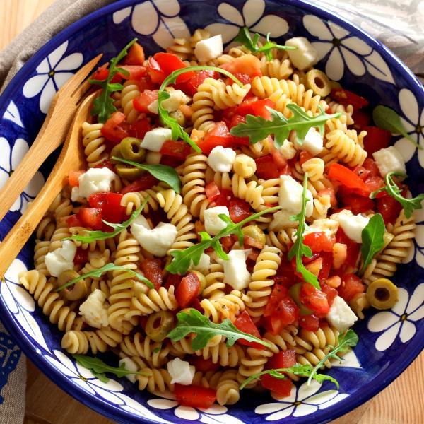 Recette Salade De Pates Comme En Italie En Video