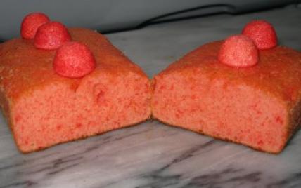Gâteau fraise tagada