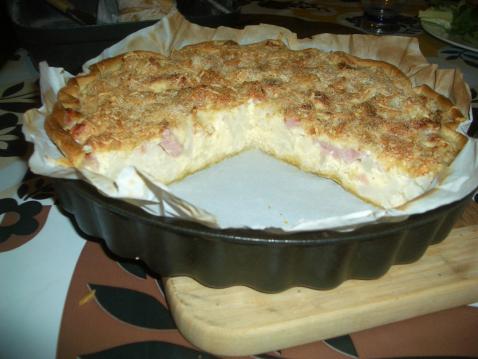 recette - tarte au chou-fleur | notée 4.2/5