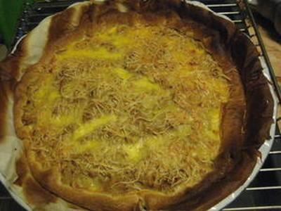 Recette Quiche Au Thon Epicee Au Curry Sur Pate Brisee 750g