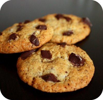 Cookies Aux Pepites De Chocolat Noir Maison