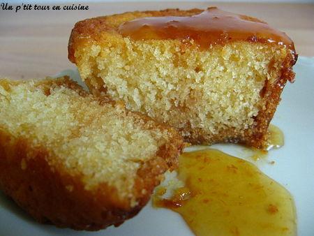 recette - mini cake à la marmelade d'orange | 750g