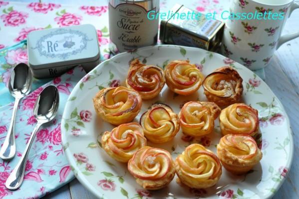 recette - pommes fleurs | 750g