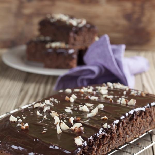 Gateau chocolat au gingembre