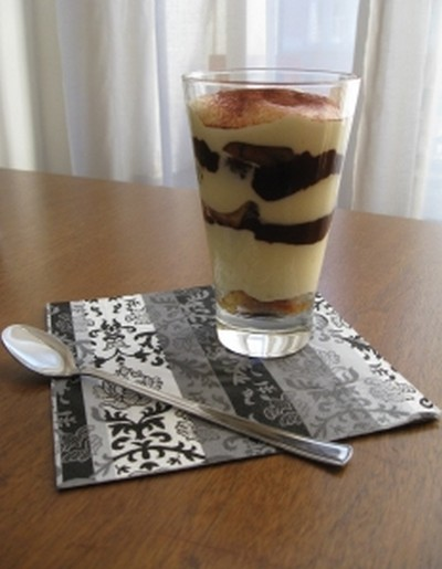 recette tiramisu au deux chocolat