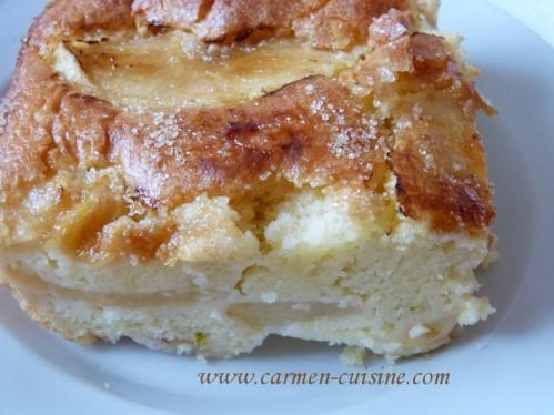 Recette Gâteau De Pommes Au Limoncello Et Yaourt Au Lait Entier De