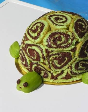 recette gâteau tortue 750g