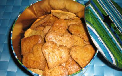 Recette Biscuits Croquants Au Pralin Et Amandes 750g