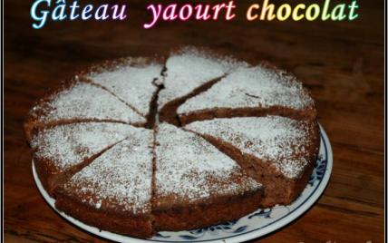 Recette gateau yaourt et chocolat