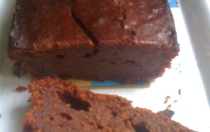 Gateau fondant au chocolat dattes et amandes