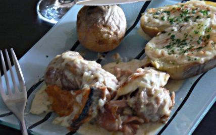 Recette andouillettes de troyes gratin es au chaource 750g - Cuisiner des andouillettes ...