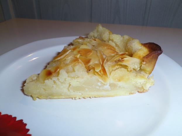 Recette tarte amandine aux poires sans oeuf 750g - Tarte aux poireaux sans oeufs ...